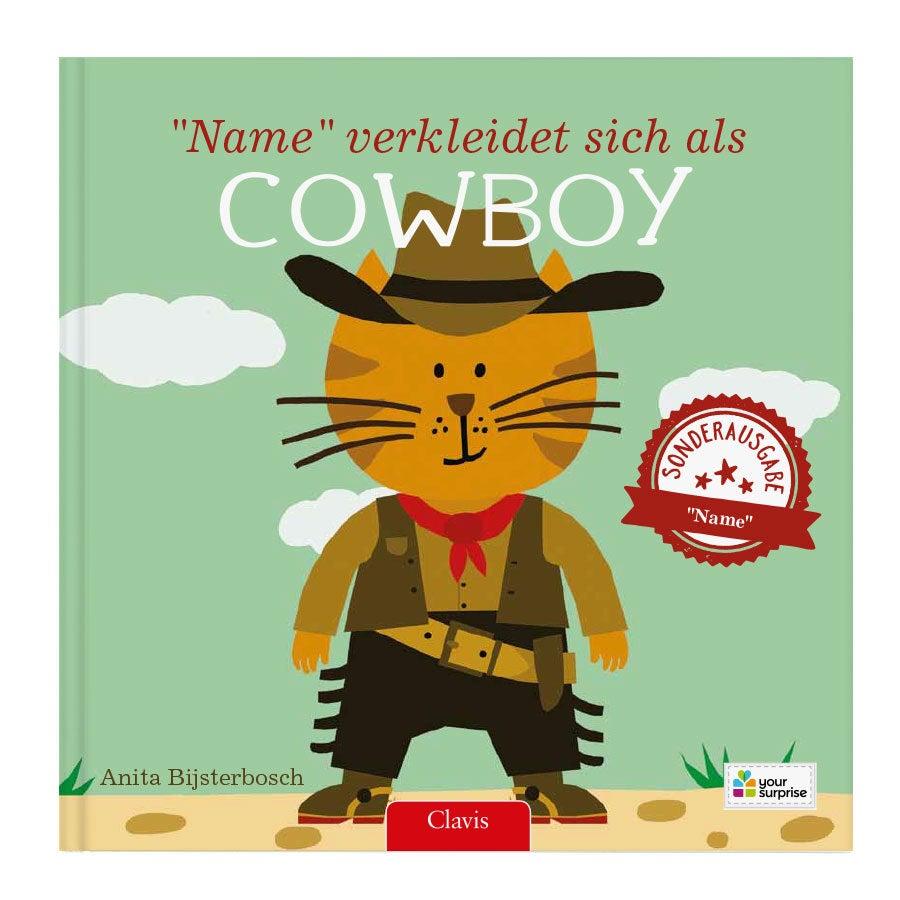 Kinderbuch - Ich gehe als Cowboy - Hardcover