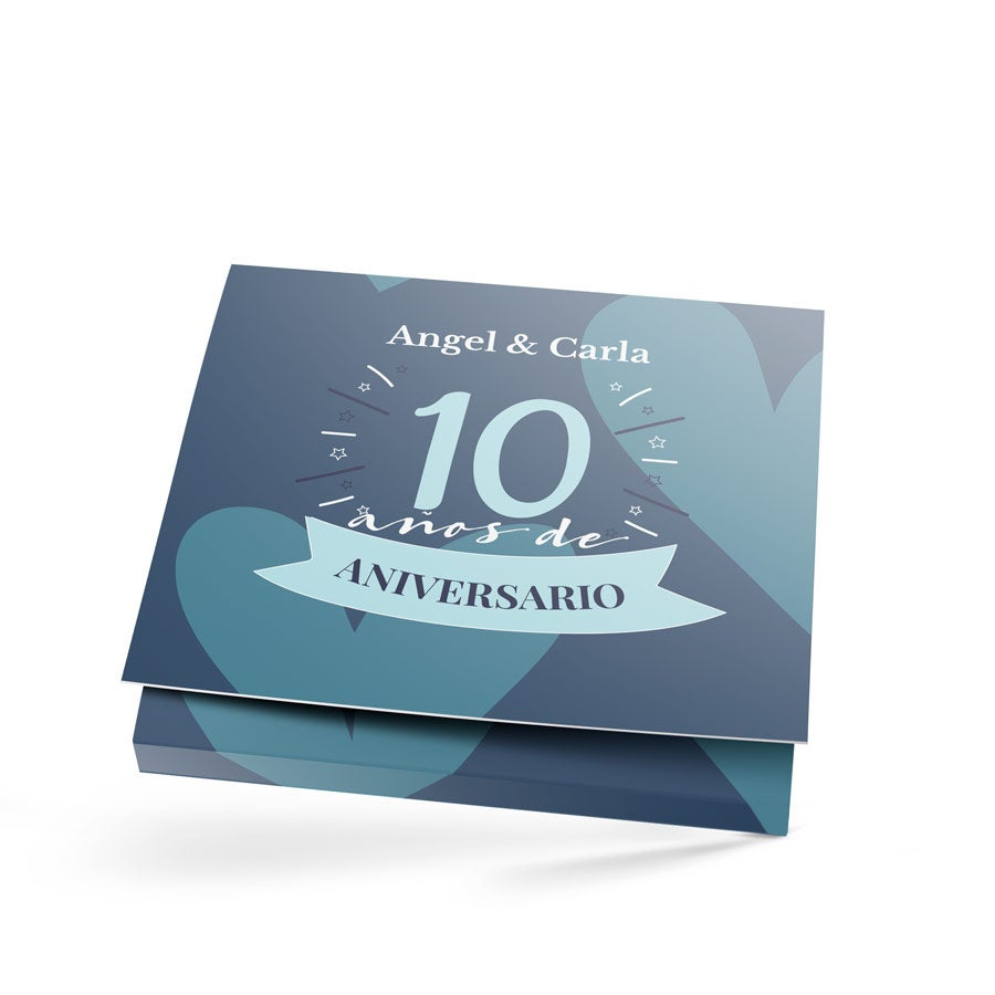 Caja de chocolates Verkade - Solo porque sí - 2 barras