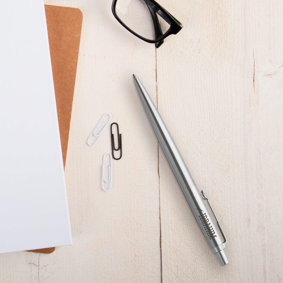 Individuellbesonders - Parker Jotter Kugelschreiber Rechtshänder (Silberfarben) - Onlineshop YourSurprise