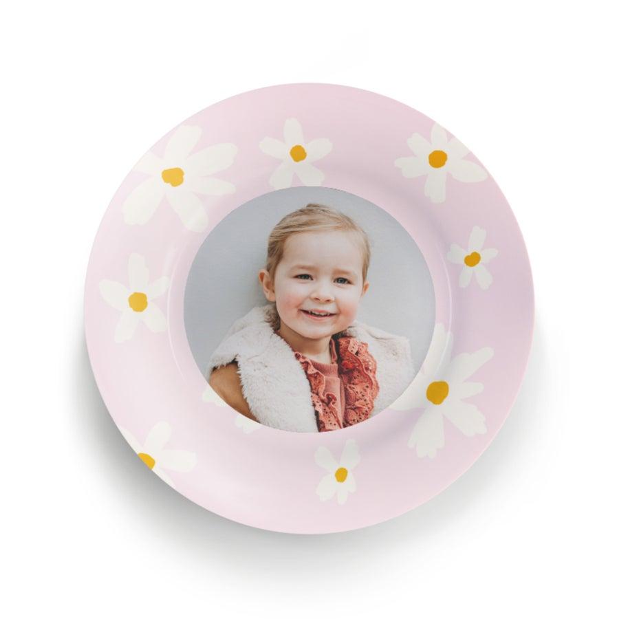 Assiette enfant personnalisée