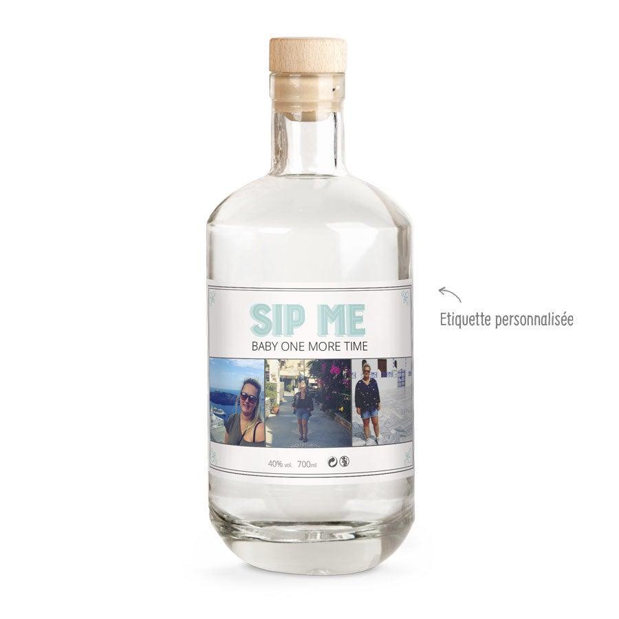 Gin étiquette personnalisée