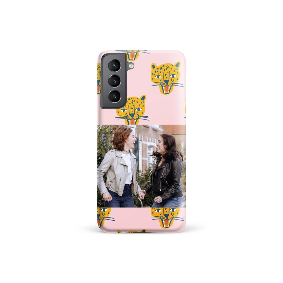 Tryckt mobilskal - Samsung Galaxy S21 - Runt tryck