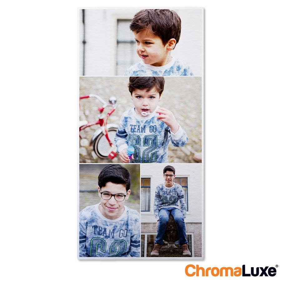 Foto op aluminium afdrukken - Geborsteld (ChromaLuxe) - 30 x 60 cm