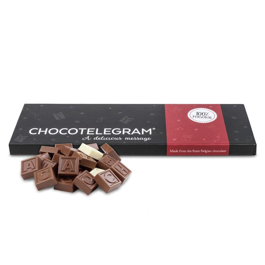 Telegrama de chocolate: 60 caracteres