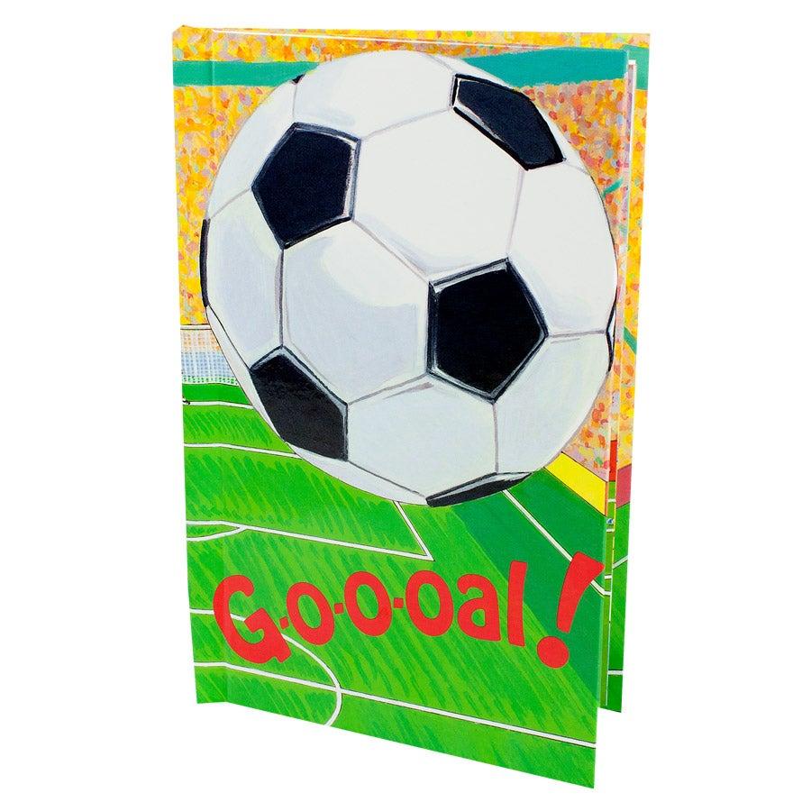 Livre personnalisé - Goal
