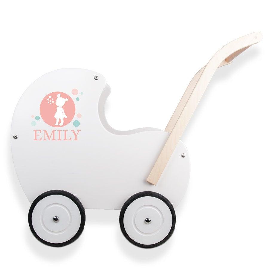 Barnvagn i Trä