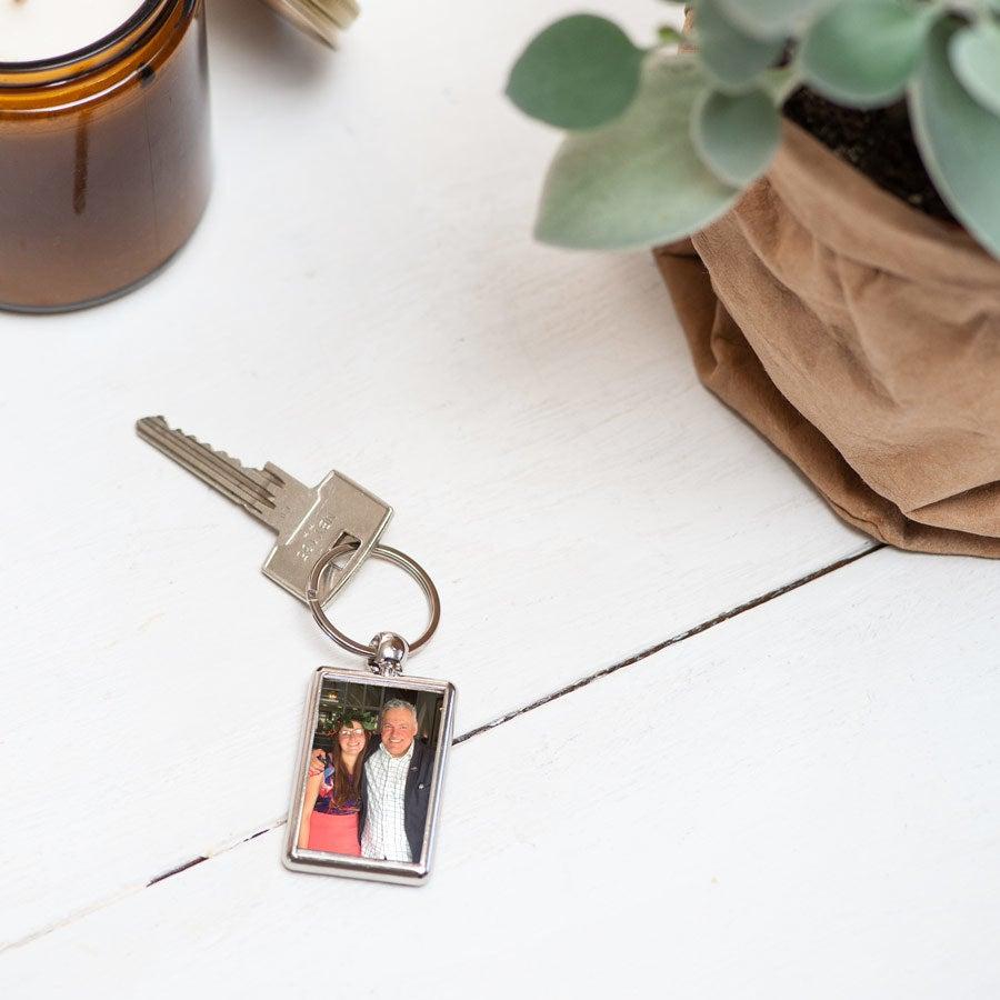 Isänpäivä avaimenperä - kaksipuolinen