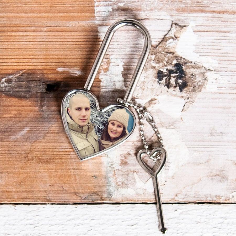 Individuellbesonders - Liebesschloss mit Foto - Onlineshop YourSurprise