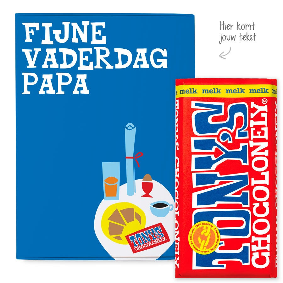 Tony's Chocolonely giftbox - Vaderdag (melk)