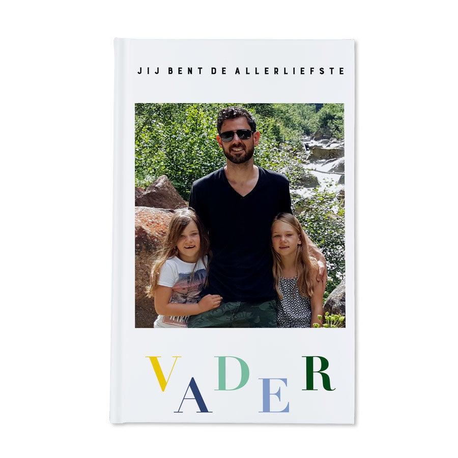 Vaderdag notitieboekje bedrukken - Hardcover