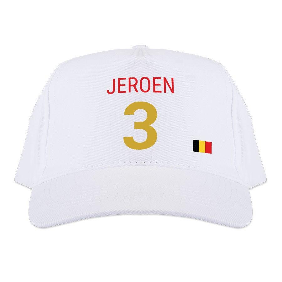 WK baseball cap - Wit