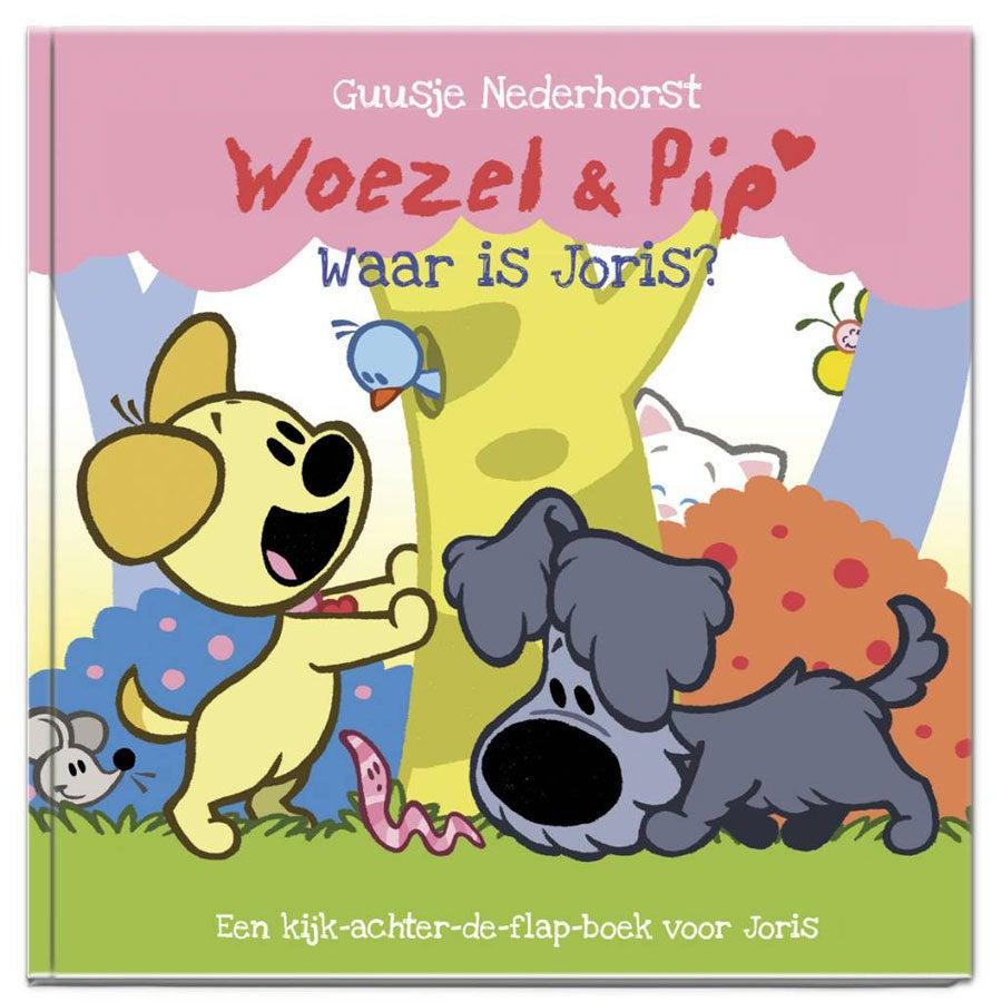 Boek met naam - Woezel en Pip Waar ben je? (Hardcover)