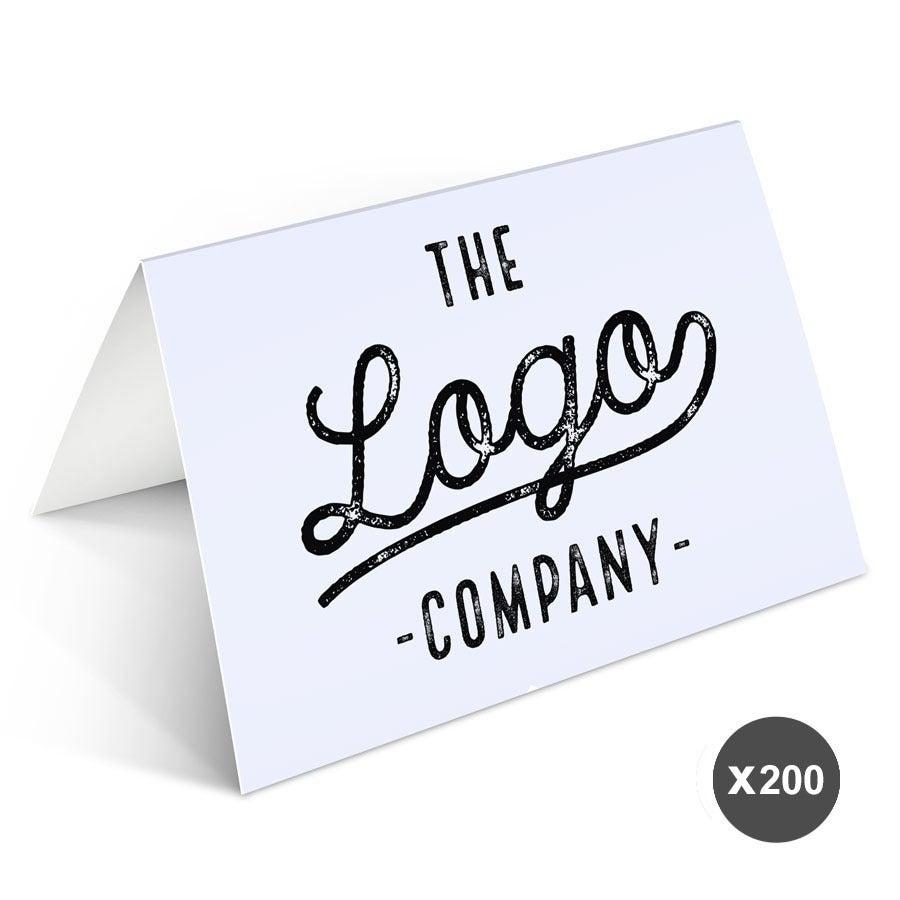 Painettu kuvakortti yrityksille - 200 korttia