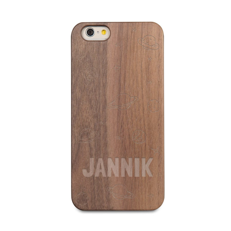 Handyhülle Holz mit Gravur - iPhone 6s