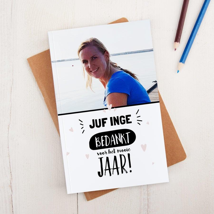 Juf / Meester notitieboekje - Hardcover