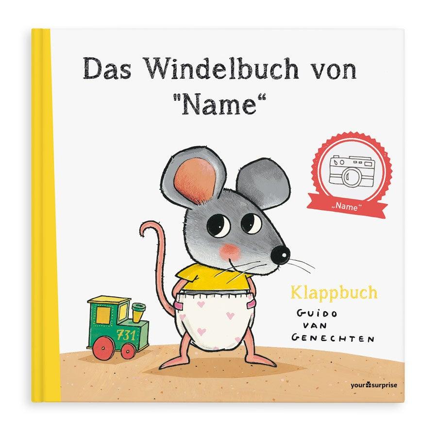 Individuellbabykind - Kinderbuch mit Namen Das Windelbuch von... XXL Version - Onlineshop YourSurprise