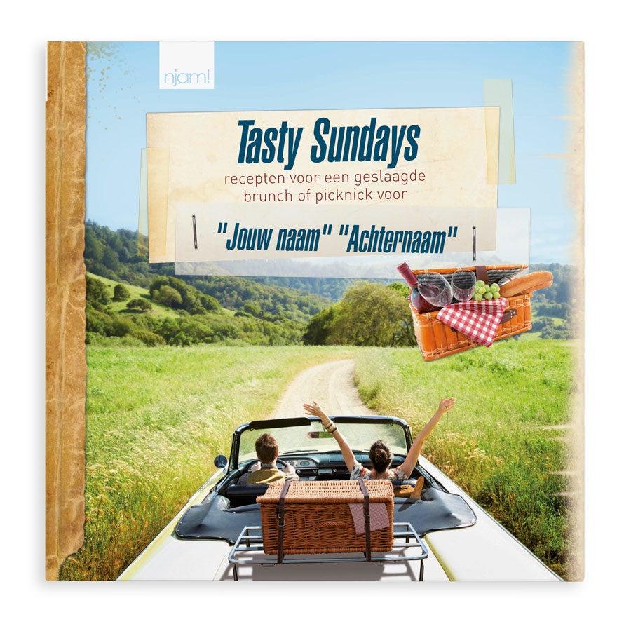 Kookboek met naam - Tasty Sundays - Hardcover