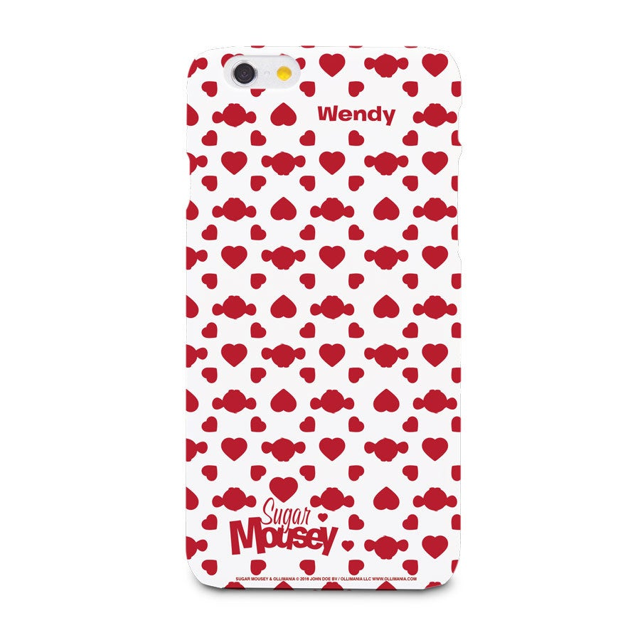 Pouzdro na telefon Sugar Mousey - iPhone 6 - 3D tisk