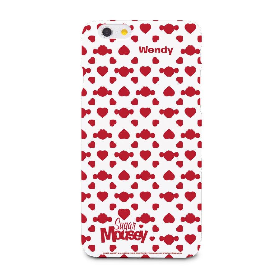 Sugar Mousey Handyhüllen - iPhone 6 - Fotocase rundum bedruckt