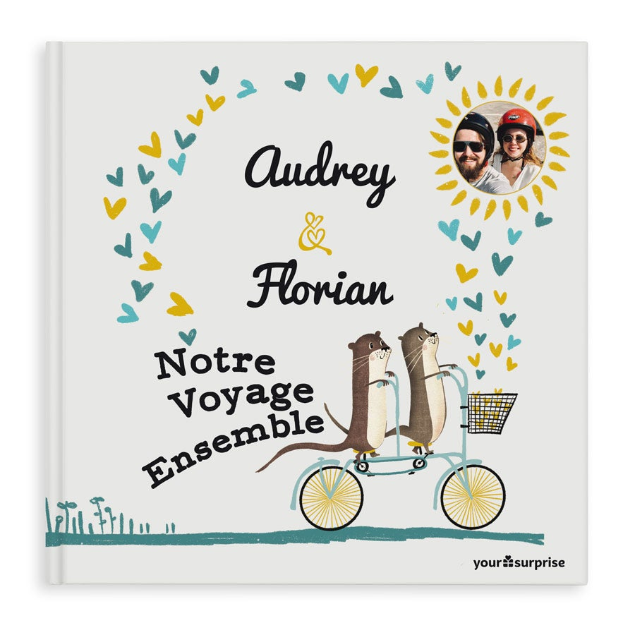 Livre personnalisé - Notre Voyage Ensemble - Couverture rigide
