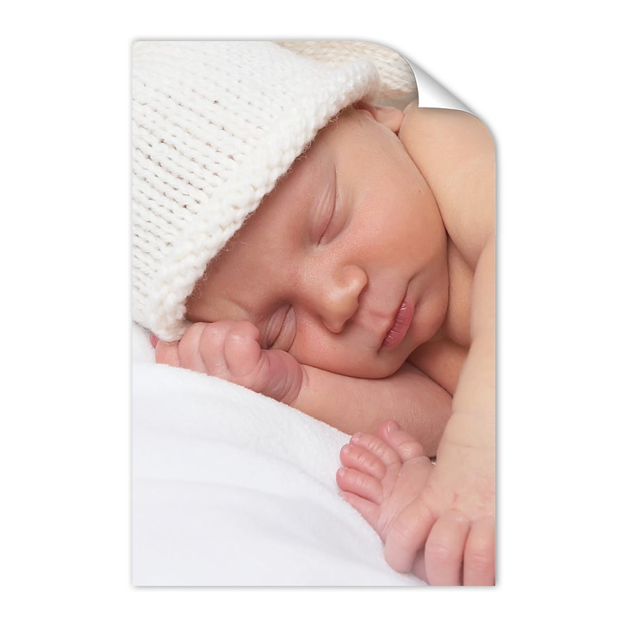 Cartaz de nascimento de bebê - 50 x 75 cm