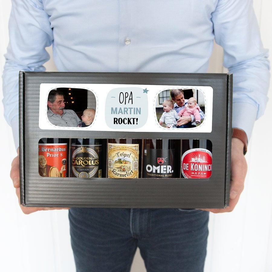 Bier Geschenkset - Opa - Belgisches Bier