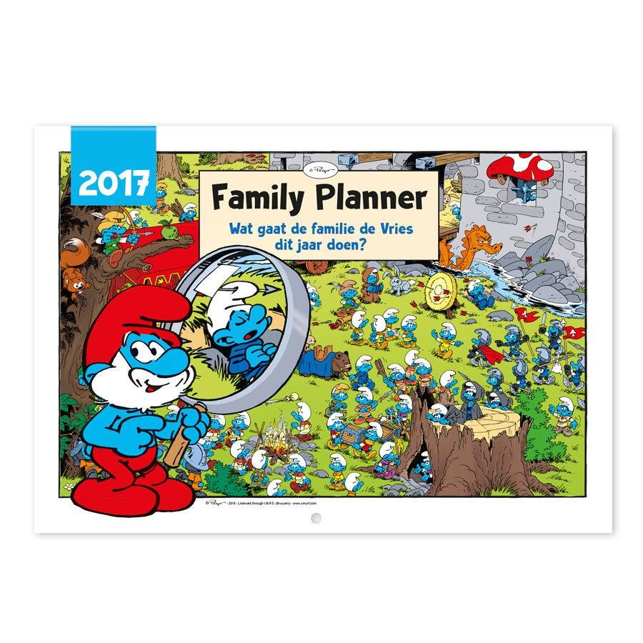 Smurfen familieplanner