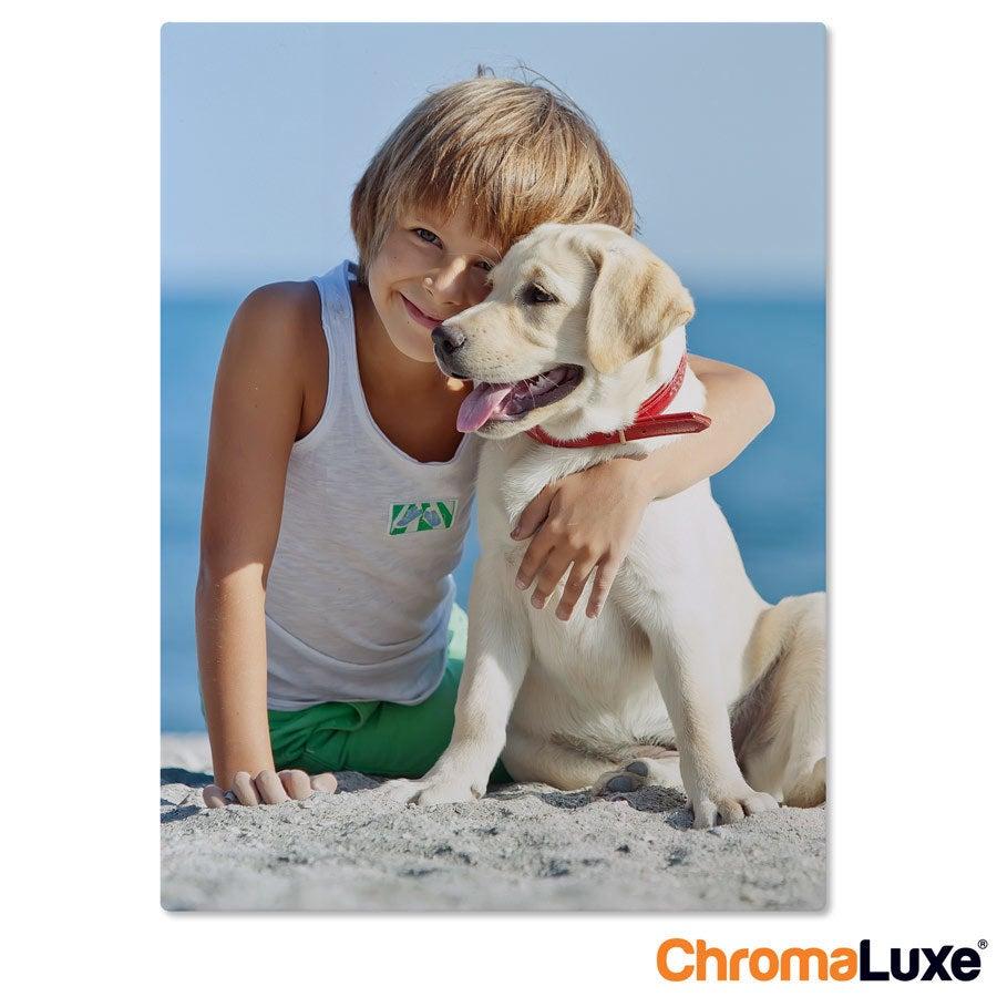 Aluminium fotopaneel- ChromaLuxe - 15 x 20