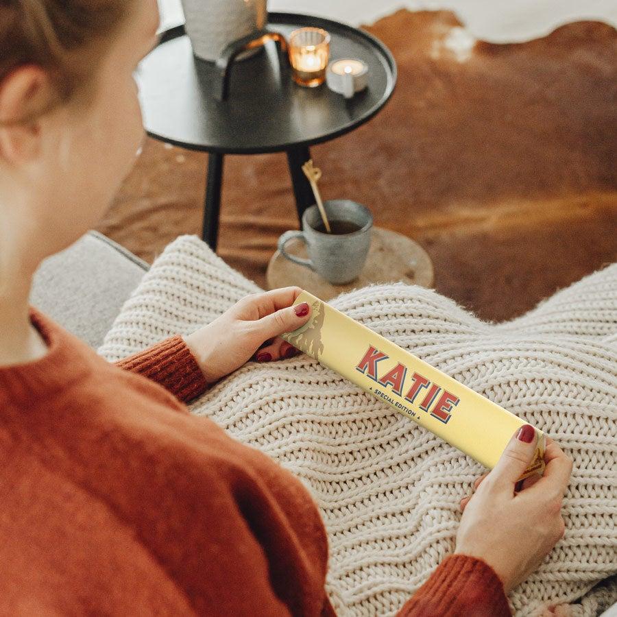 Personalised Toblerone Bar - 200 Grams