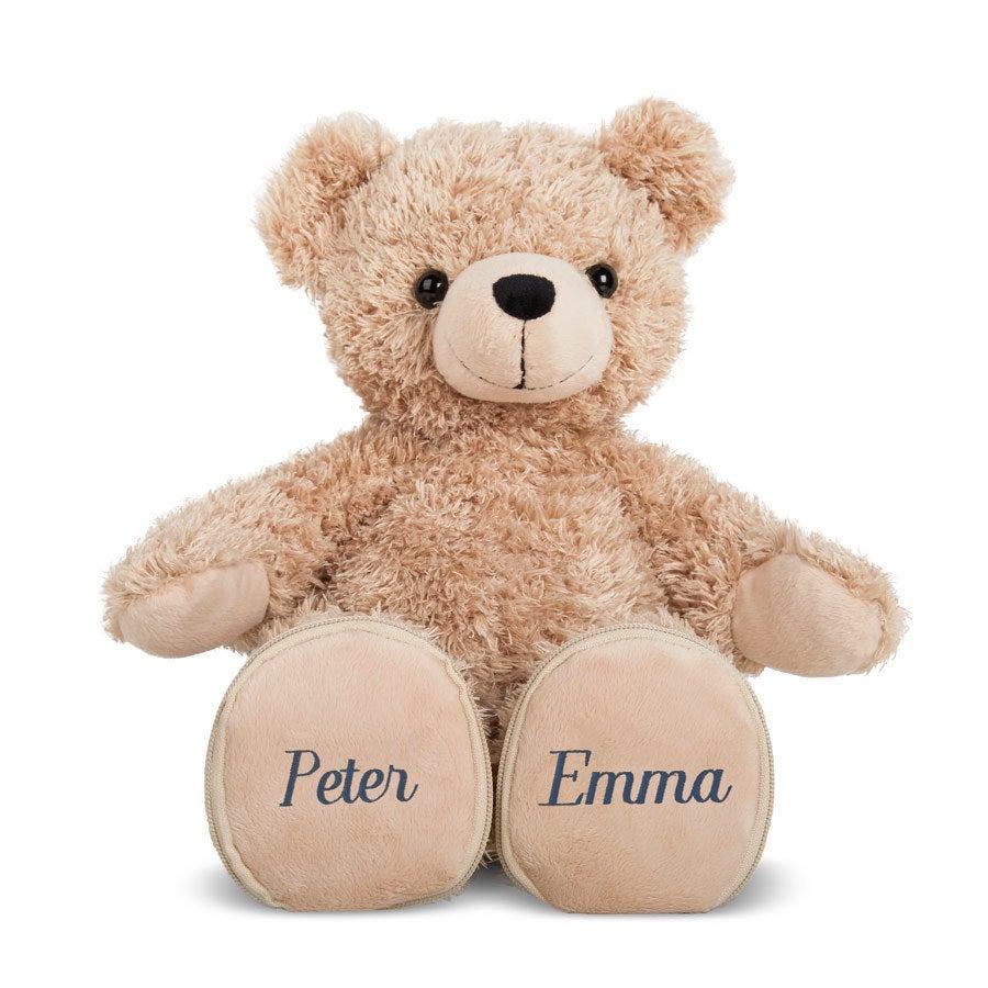Urso de casamento com nome