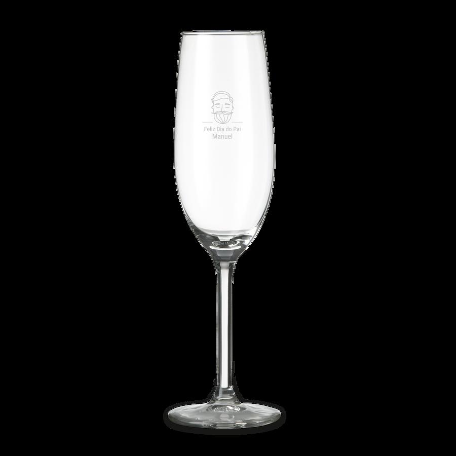 Taça de Champanhe personalizada