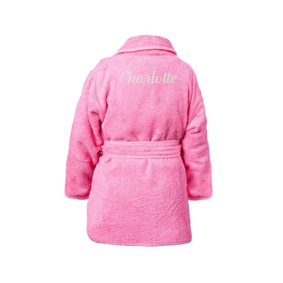 Individuellbadzubehör - Kinderbademantel Rosa (80 92) - Onlineshop YourSurprise