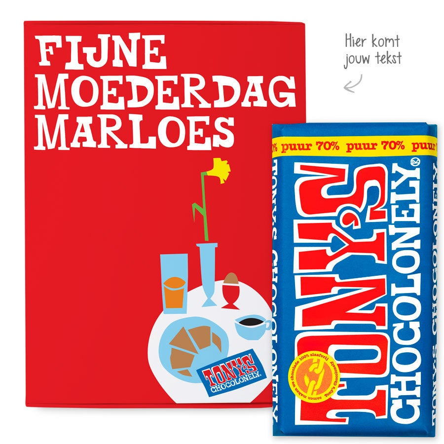 Tony's Chocolonely giftbox - Moederdag (puur)