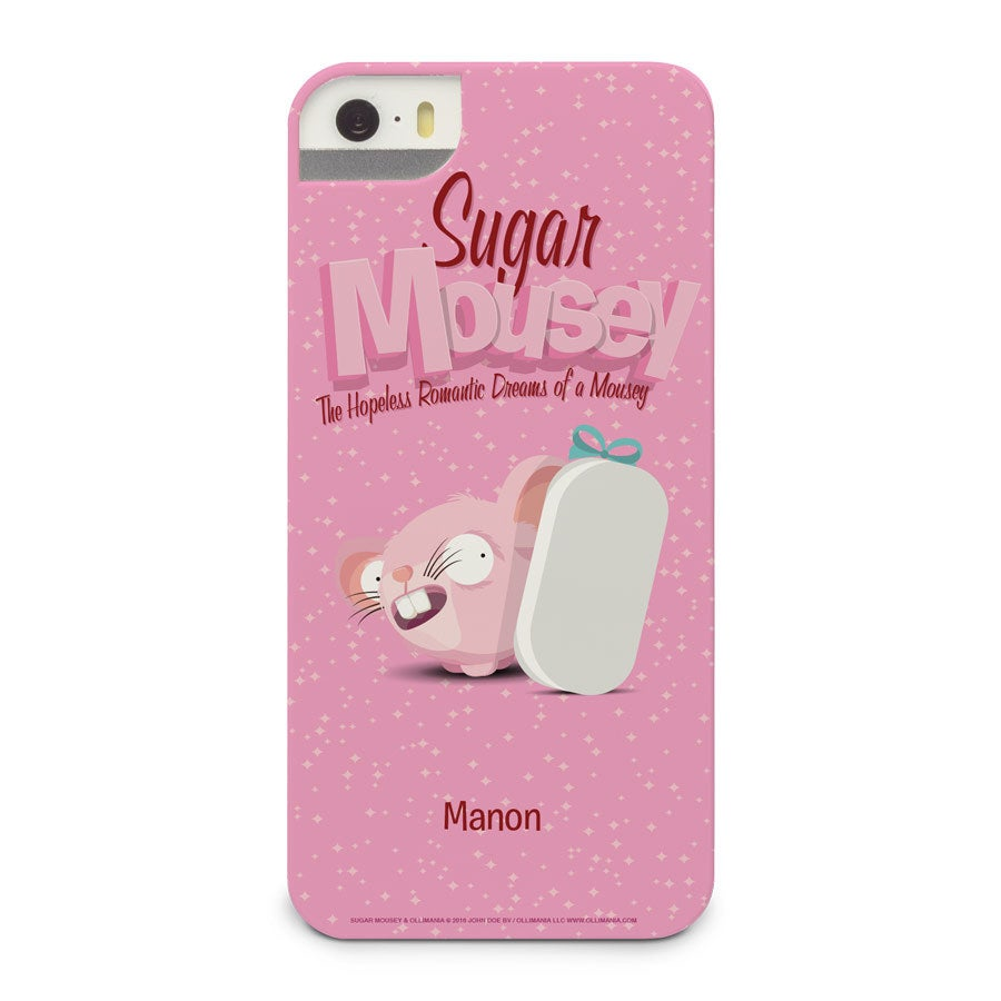 Socker Mousey telefonväska - iPhone 5 - 3D-utskrift