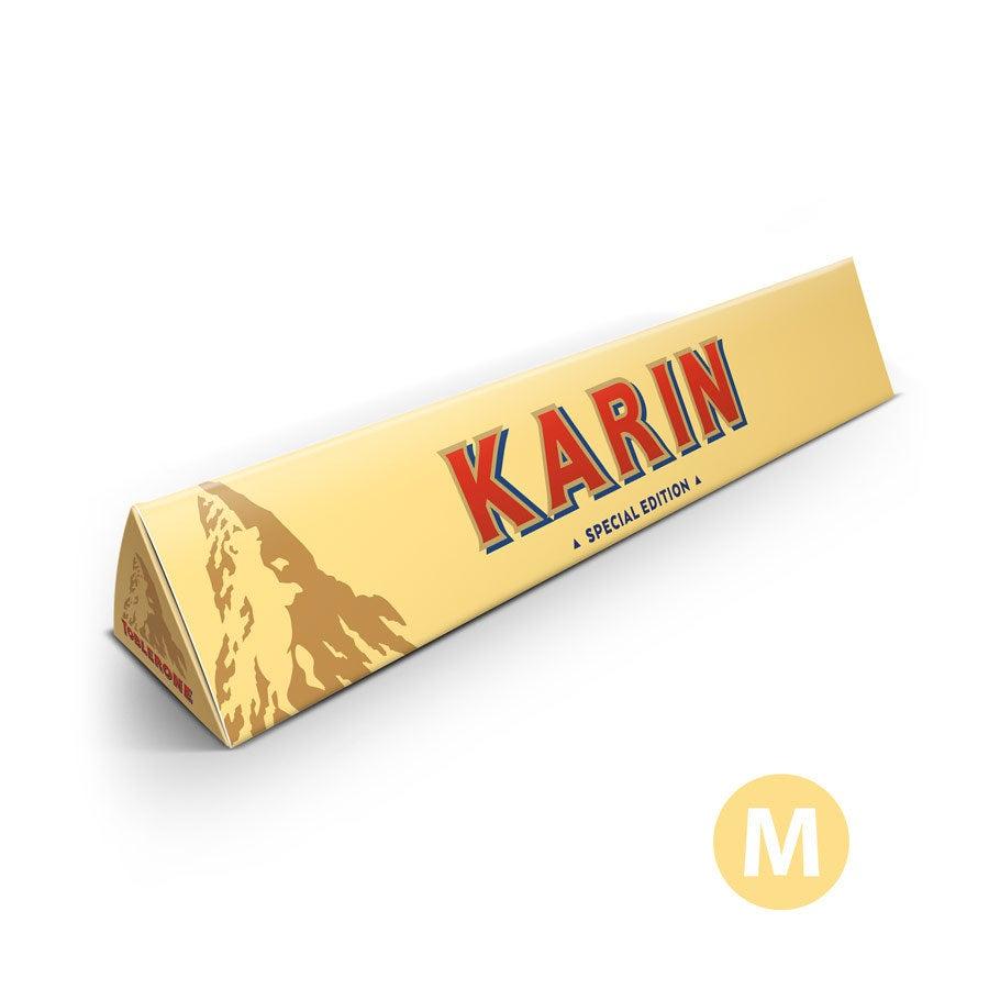 Personalisierte Toblerone Schokolade - 200 Gramm