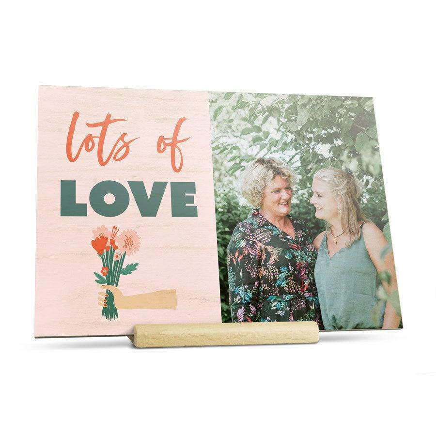 Carte postale en bois - Horizontal