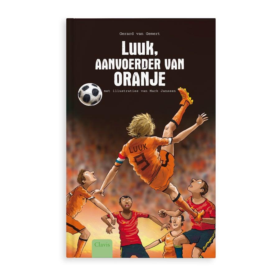 Boek met naan - Aanvoerder van Oranje - EK 2021