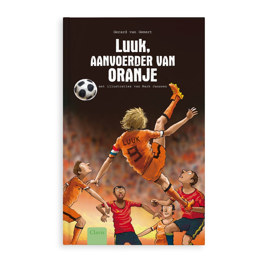 Aanvoerder van Oranje - EK - Hardcover - EK 2021