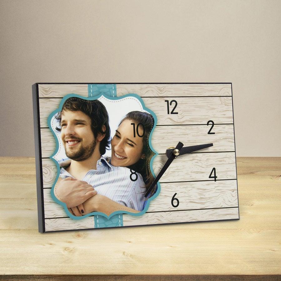 Hardboard Desk Clock