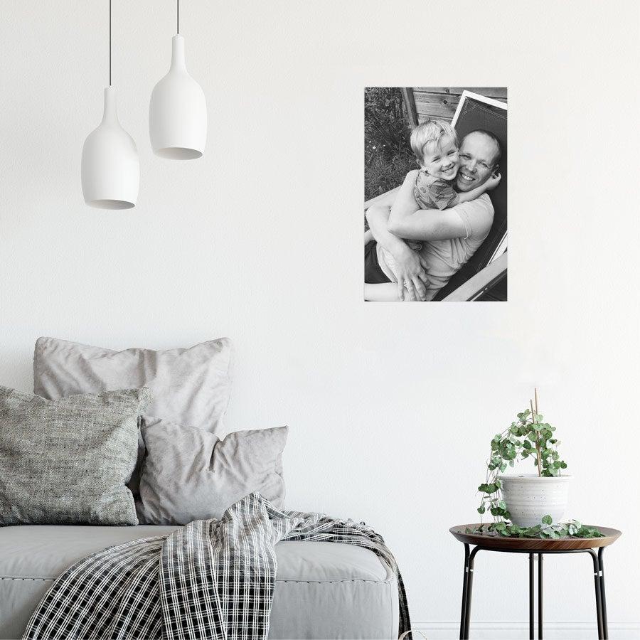Poster photo personnalisé - 20 x 30 cm