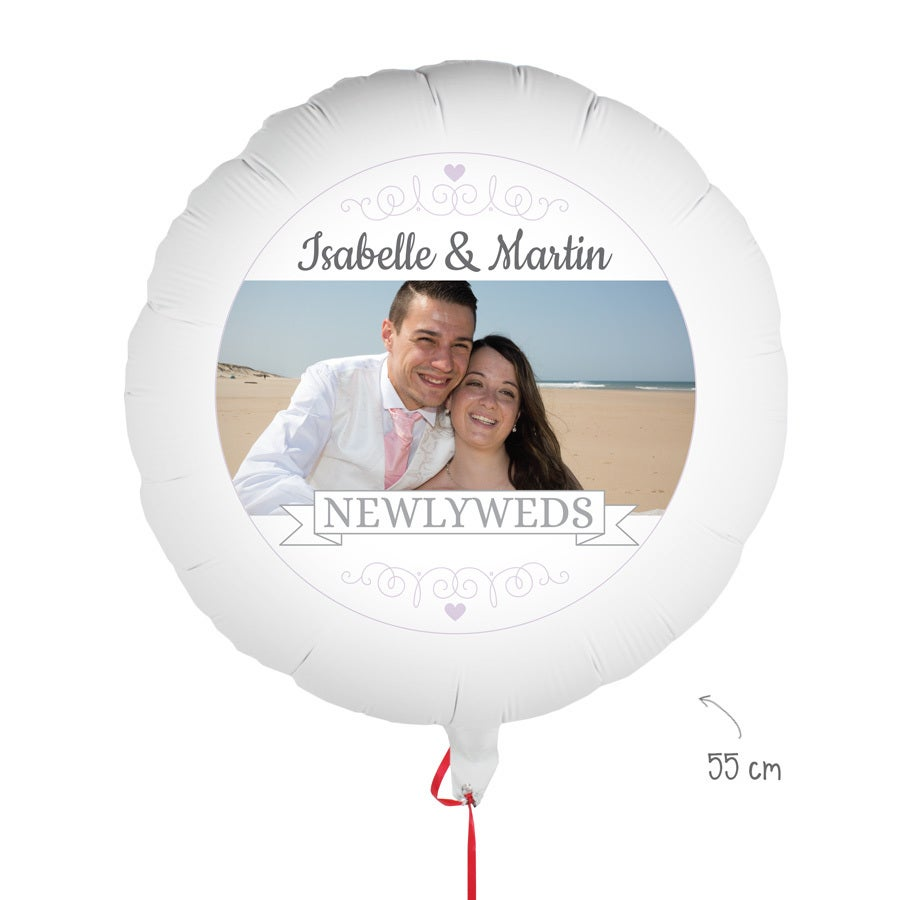 Ballon personnalisé - Mariage