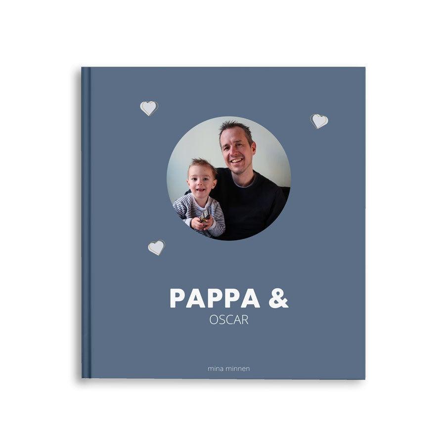 Fotobok - Pappa & jag/vi - M - Hardcover - 40 - Farsdag