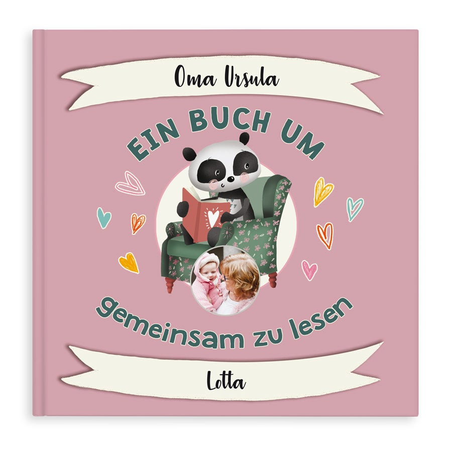 Personalisiertes Buch - Oma - Hardcover
