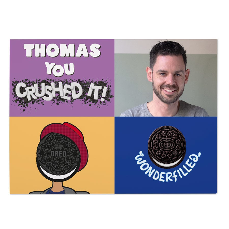 Oreo gaveeske - You crushed it