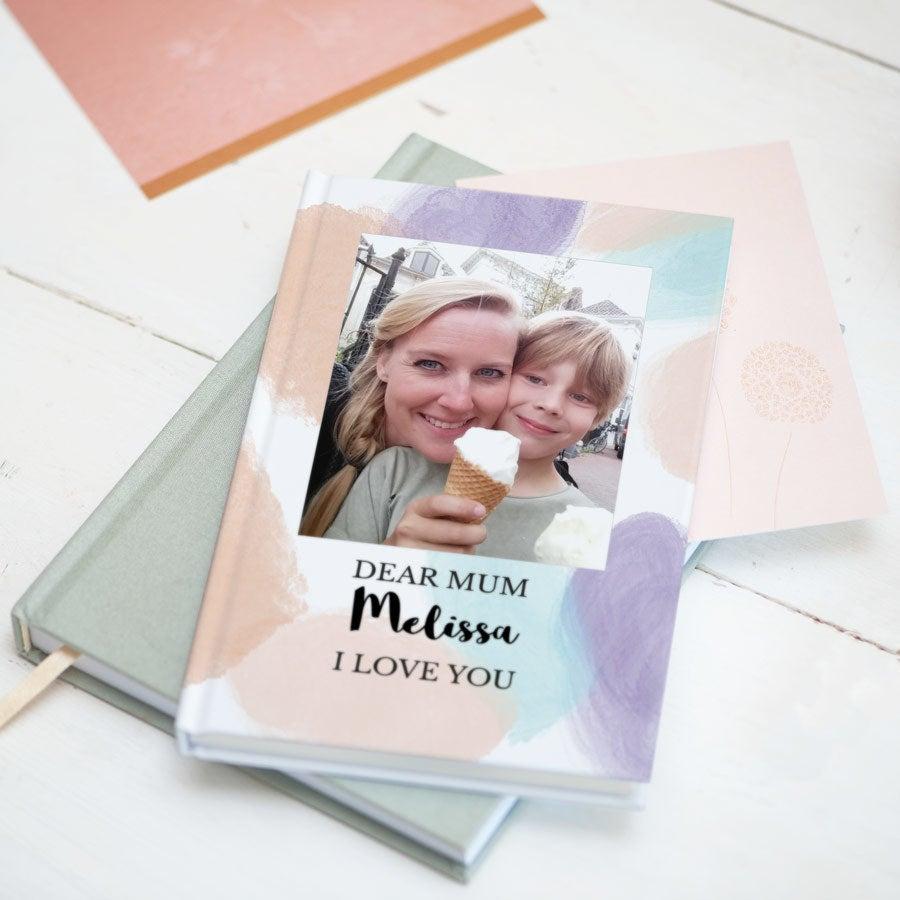 Äitienpäivä muistikirja - Kovakantinen