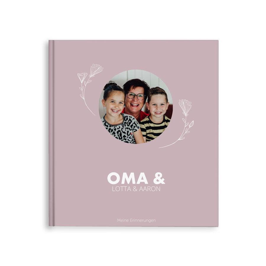 Fotobuch für Oma - Oma & ich/wir - M - Hardcover - 40 Seiten