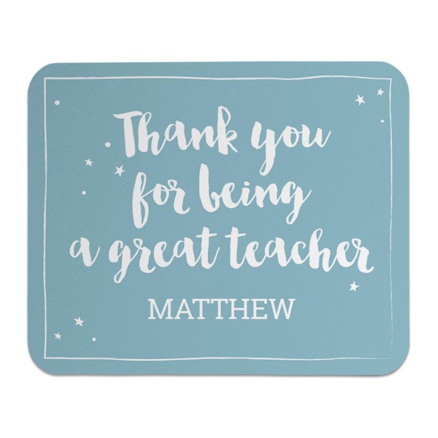 Egér matrac a tanárok számára - téglalap