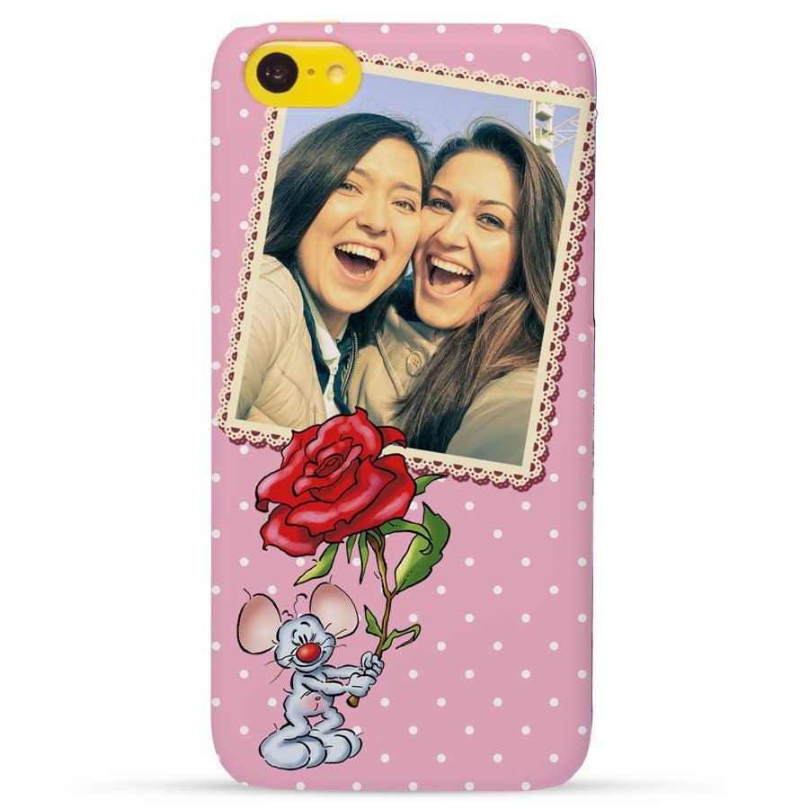 Doodles - iPhone 5c - foto case rondom bedrukt