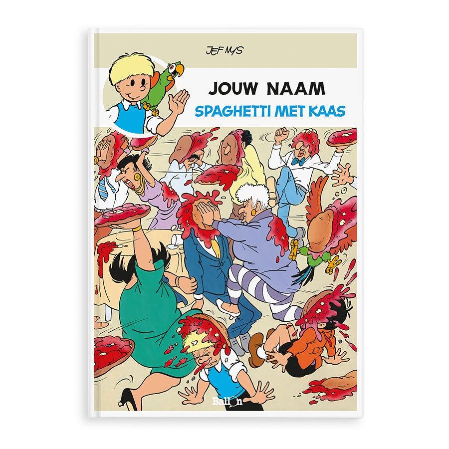 Persoonlijk stripboek - Jommeke 'Spaghetti Met Kaas' (Softcover)
