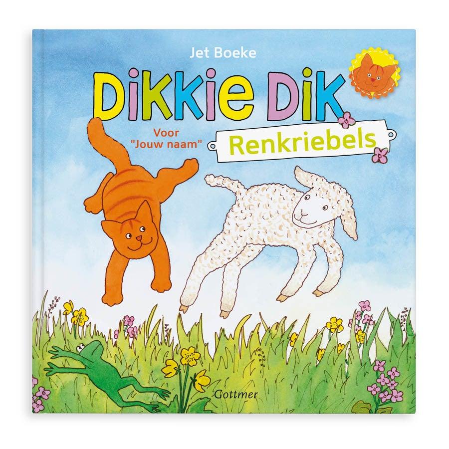 Boek met naam - Dikkie Dik heeft de renkriebels - Hardcover